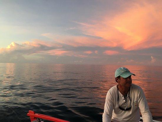 Moorea, Fransız Polinezyası: Sunset avec Arnaud sur Taboo ❤