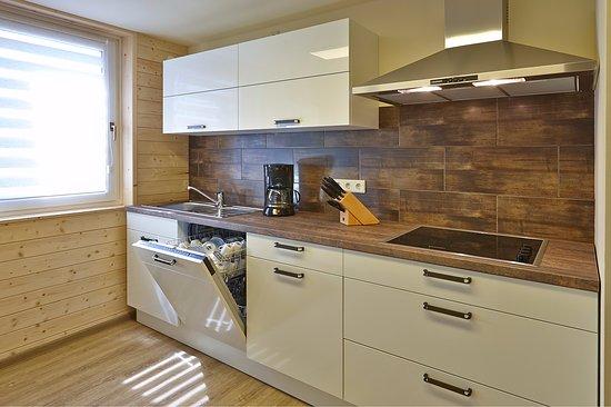 Premium Ferienhaus Küche