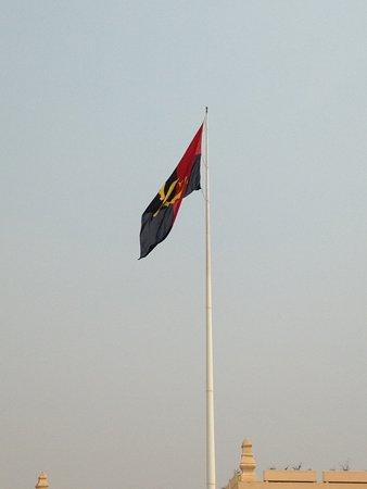 Fortaleza de Sao Miguel: Bandeira de Angola