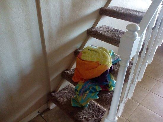 Polynesian Shores: stairs