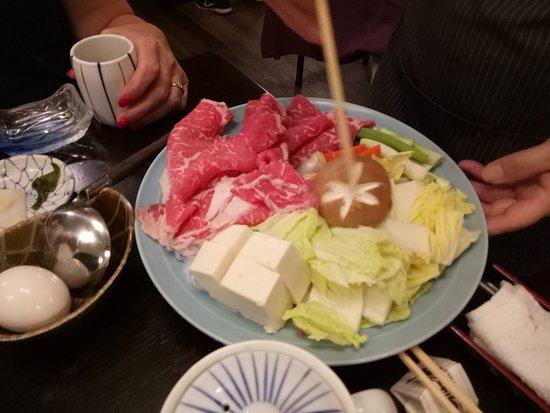 Yoshitsune Restaurant: Sukiyaki
