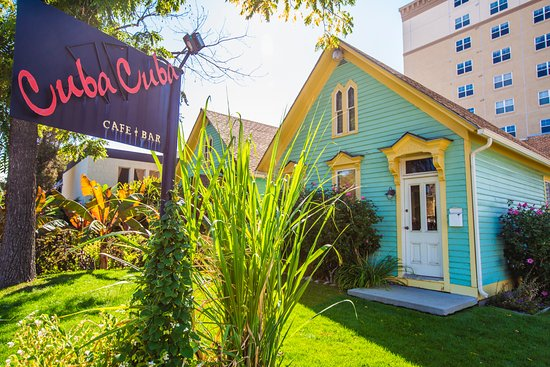Cuba Cuba cafe & bar: CUBA CUBA-- our beautiful 1880 homes that house our authentic cuban eatery. you will love it!