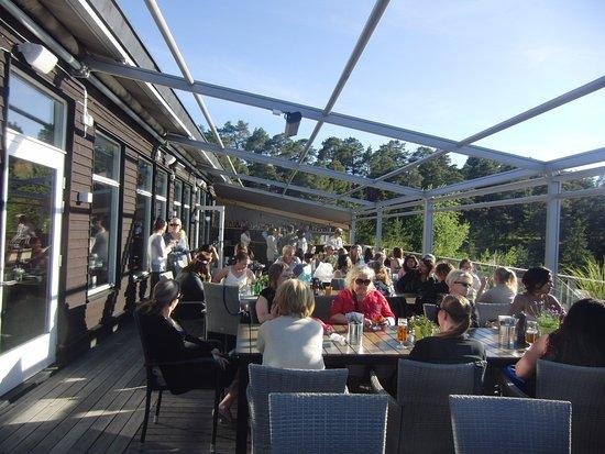 Saltsjobaden, Suécia: El exterior del restaurante.