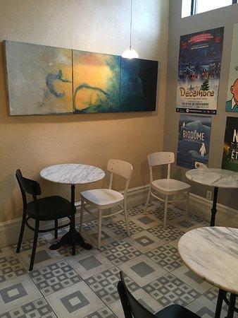 Chateau de l'Argoat: breakfast room