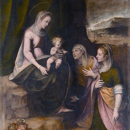 Tortona, Italy: Moncalvo, Madonna con il Bambino, Sant'Anna e Santa Margherita