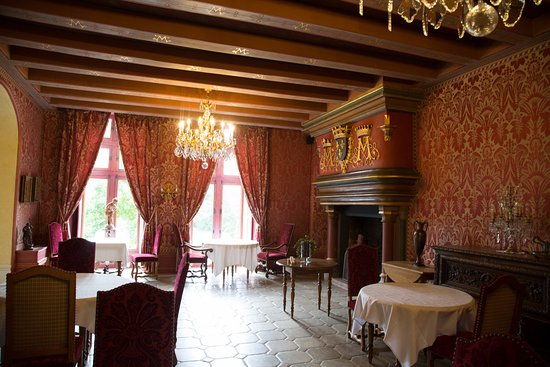 Noyant-de-Touraine, Francia: Main dining room