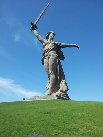 'The Motherland Calls' Sculpture (Volgograd) - 2019 All