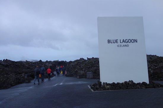 Grindavik, Island: Entrance