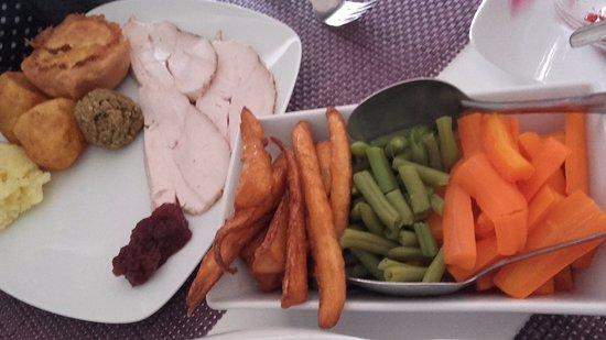 James's Place: Turkey and Veg.....