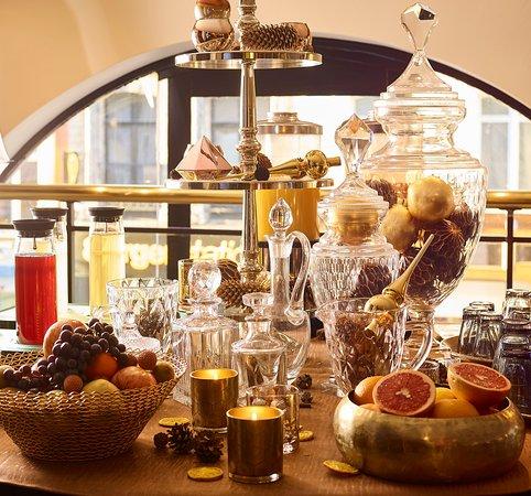 Carlton Hotel : Buffet Petit Déjeuner Gourmand
