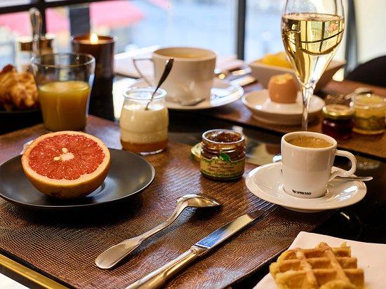 Carlton Hotel : Votre petit déjeuner