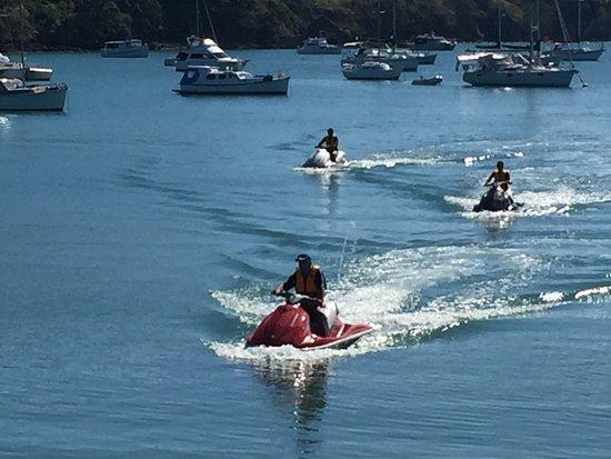 Waiheke-øya, New Zealand: Jet Ski Tours