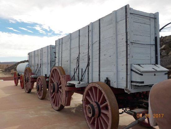 Boron, Kalifornia: 20 MULE TEAM WAGON