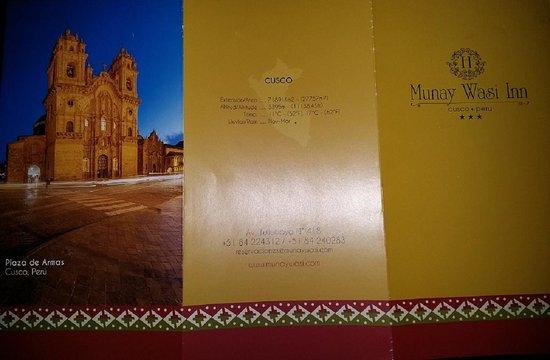 Hotel Munay Wasi: Descriptif de l'hôtel