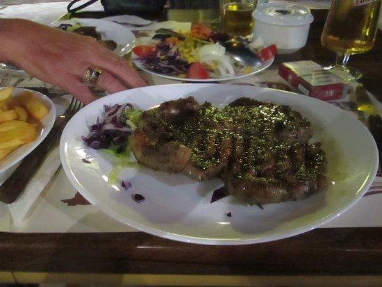 Rodeo Steak House : Small Sirloin Steak