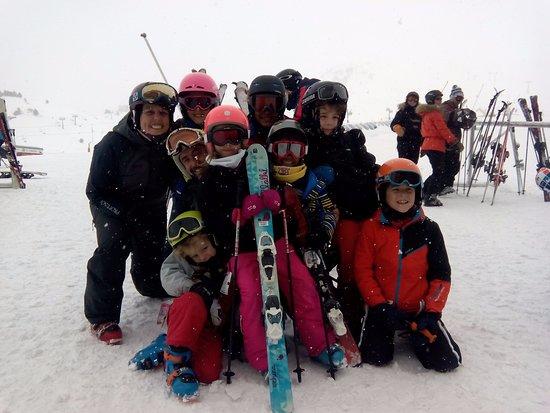 Escuela de Esqui Antartida: Grupos Antón y Manuela