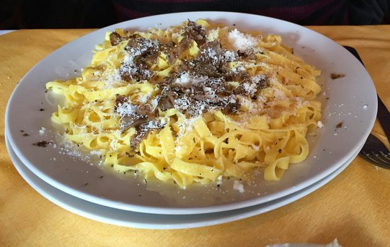 Carpegna, Italië: Tagliatelle al tartufo