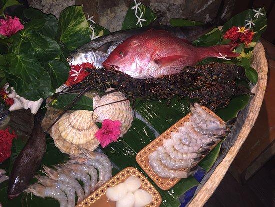 Capella Ixtapa: Fish market Resturant selection