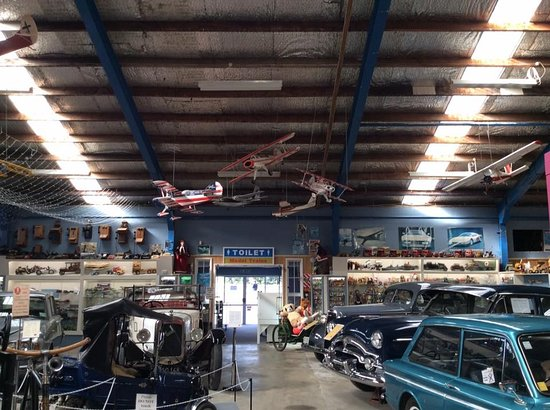 National Transport and Toy Museum: cars and planes