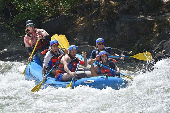 Lotus, CA: South Fork American River Rafting at Troublemaker Rapid