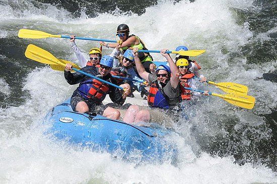 Lotus, CA: Summer Rafting on the South Fork American River
