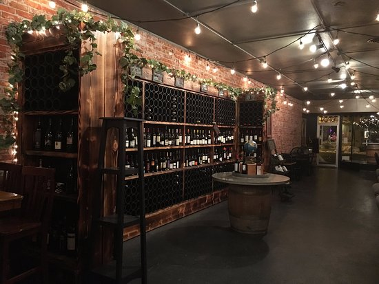 Ellensburg, WA: part of our wine selection