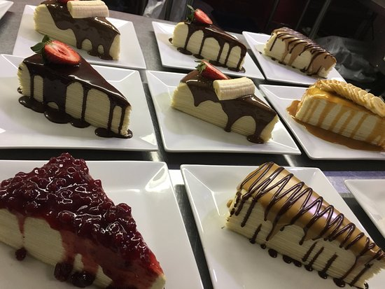 Ellensburg, WA: our crepe cake