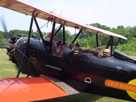Red Hook, NY: Take a ride in our 1929 New Standard D25 open cockpit biplane!