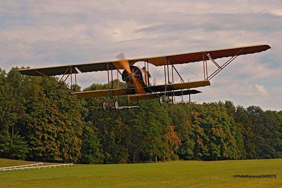Red Hook, NY: 1914 Caudron G.III biplane flies every weekend
