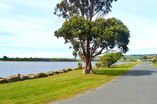 Owaka, Nueva Zelanda: View from Waterfront Motel