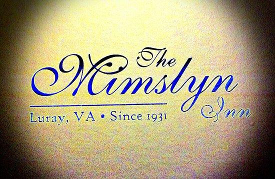 The Mimslyn Inn: 20170130_165156_large.jpg