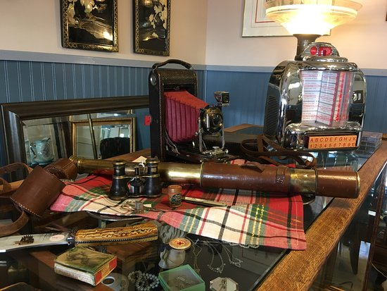 Riches Antiques & Collectables: Just a sample of the variety at Riches Antiques in Rosetown, SK.