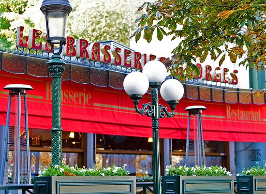 Les Brasseries Georges Uccle. Cuisine non-stop.