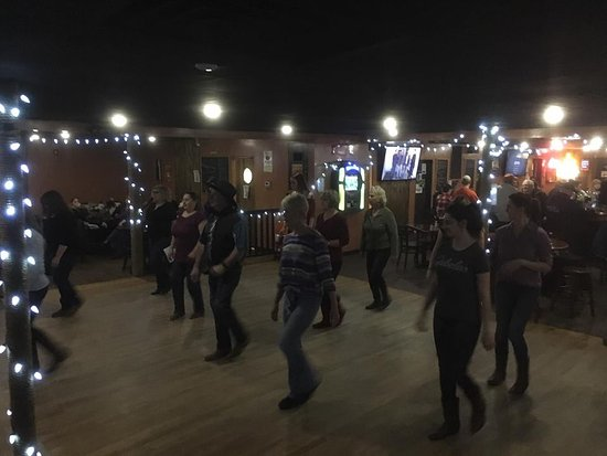 Buena, NJ: Linedancing at Tombstone Saloon and Grill