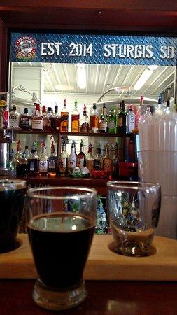 Sturgis, Νότια Ντακότα: Flight of beer