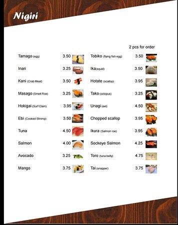 Kimberley, Canadá: Kinbari Sushi