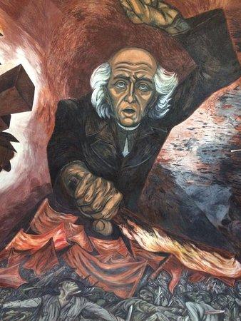 Foto de palacio de gobierno guadalajara mural de don for El mural guadalajara avisos de ocasion