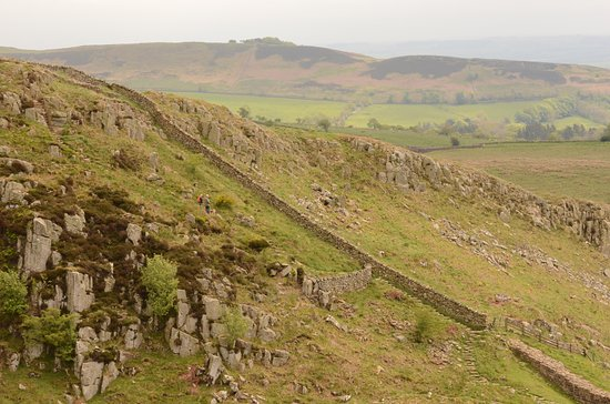 Northumberland, UK : Hadrian's wall