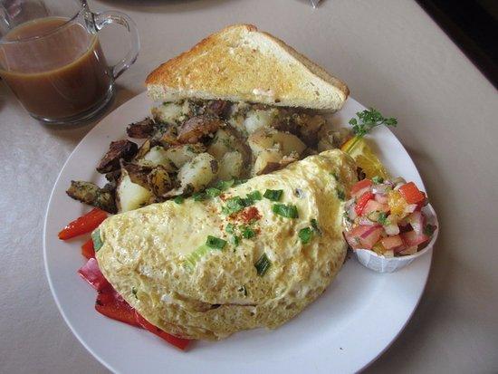 3rd St Cafe : Omelete