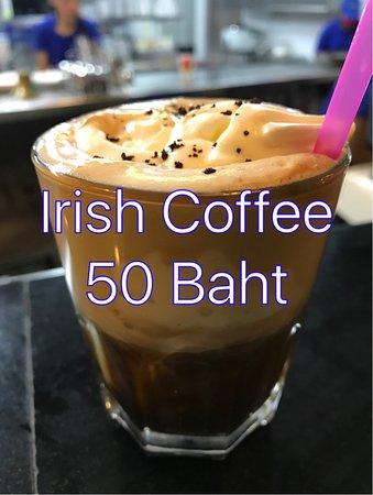 Kata Villa Restaurant: Irish Coffee