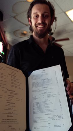 chase our way cool waiter picture of napolis italian kitchen rh tripadvisor co za