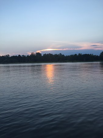 Cape Fear River: Sunset on Cape Fear from the River Walk