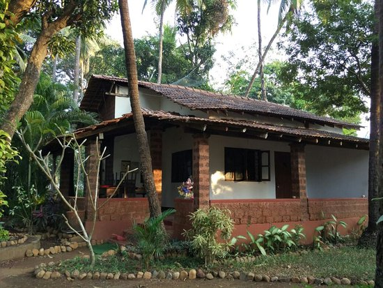 Anjuna, India: Ganesh cottage