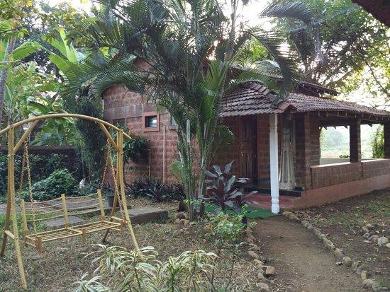 Anjuna, Índia: Shiva cottage