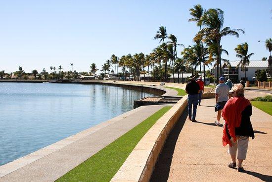 Carnarvon, Australia: Walk of Remembrance for the HMAS Sydney II
