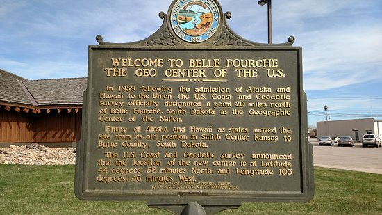 Belle Fourche, SD: Historical Marker