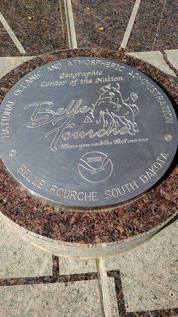 Belle Fourche, Dakota du Sud : The center of the nation