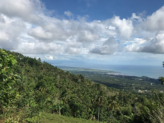 Mindanao, Philippinen: View at Mt. Palpalan