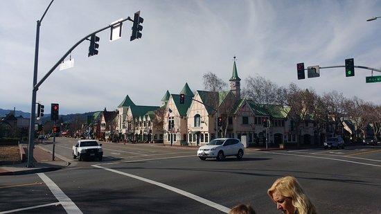 Solvang, CA: Ingreso al pueblo