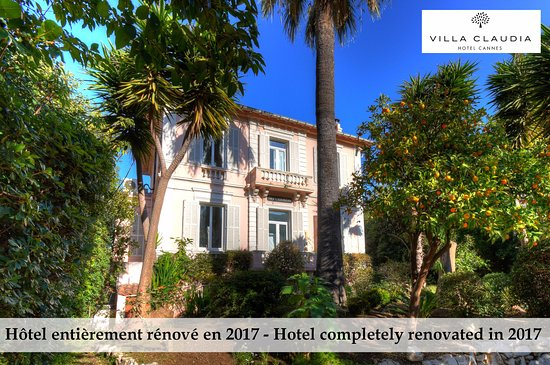 Hotel Le Vendome Villa Claudia: L'hôtel dans son jardin